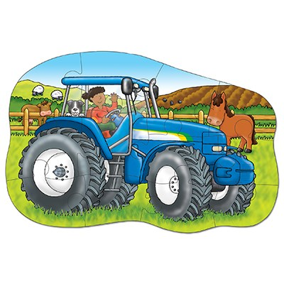 Image 3 of Little Tractor Jigsaw Puzzle  (£7.99)