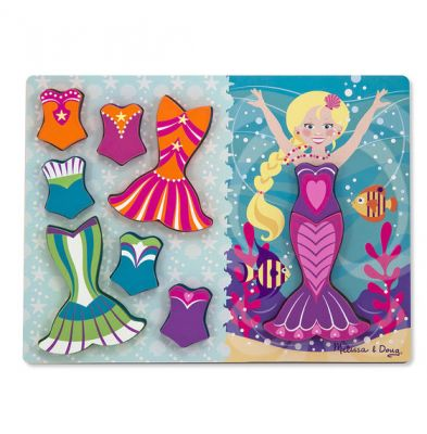 9 Piece Chunky Mermaid Dress Up Puzzle (£10.99)