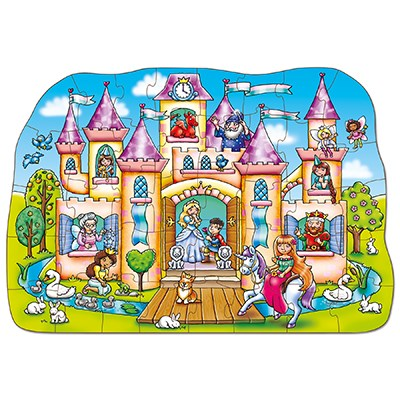 Image 2 of Magical Castle Jigsaw Puzzle - Orchard Toys  (£12.99)