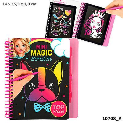 Mini Magic Scratch Book - Top Model (£4.99)