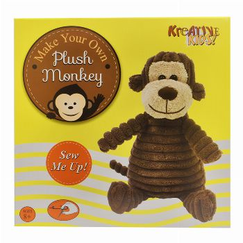 MYO Plush Monkey (£5.99)