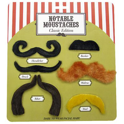 Notable Moustaches Classic Edition - NPW (£4.99)