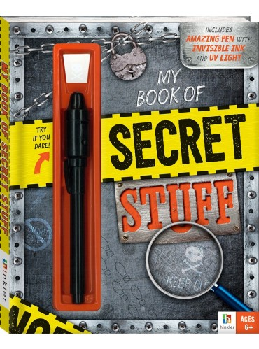 My Book Of Secret Stuff (£6.99)