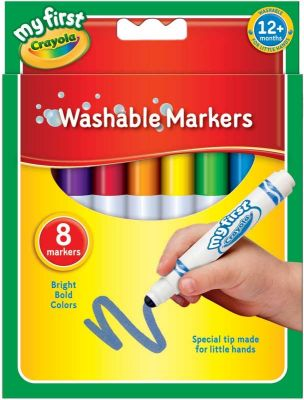 Crayola My First Markers (£5.99)
