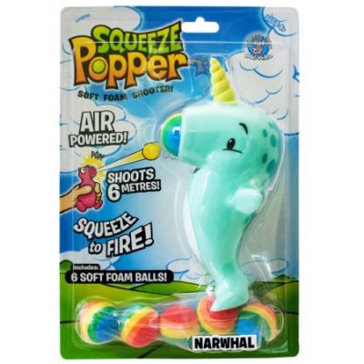 Narwhal Squeeze Popper (£9.99)