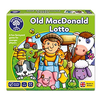 Old MacDonald Lotto Orchard Toys (£10.99)