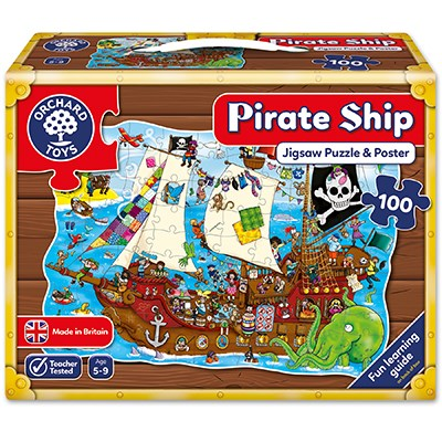 Pirate Ship Jigsaw Puzzle (£12.99)