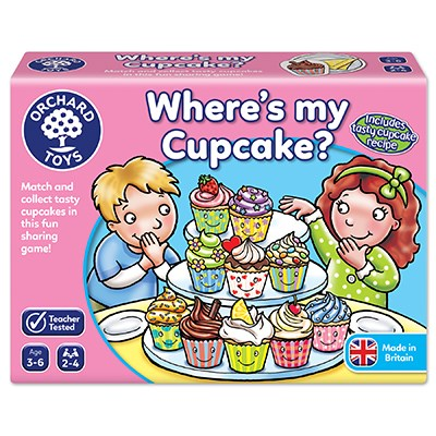 Where's My Cupcake - Orchard Toys (£8.99)