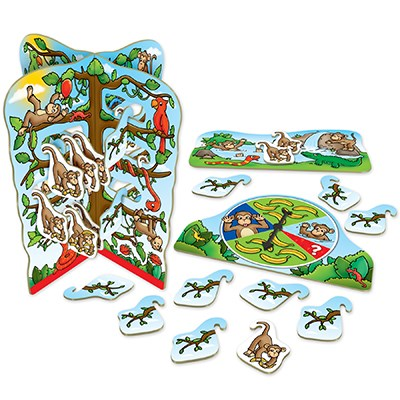 Image 2 of Cheeky Monkeys Game - Orchard Toys  (£10.99)