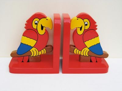 Parrot Bookends (£17.99)