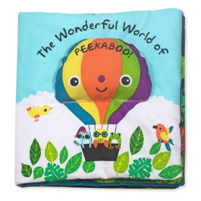 Peekaboo Soft Book - Melissa and Doug (£11.99)
