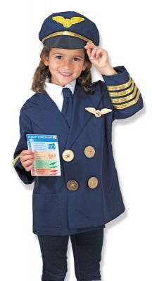 Image 2 of Pilot Role Play Costume - Melissa and Doug (£19.99)