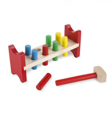 Pound A Peg Classic Toy - Melissa and Doug (£9.99)