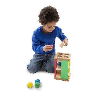 Image 4 of Pound and Roll Tower - Melissa and Doug  (£18.99)
