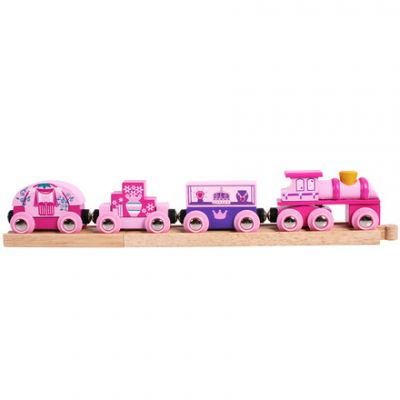Princess Train - Bigjigs Rail BJT451 (£14.99)