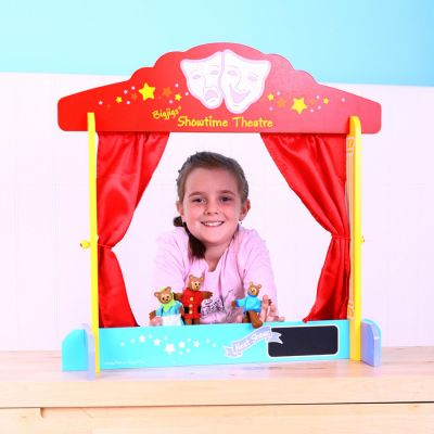 Image 2 of Table Top Theatre - Bigjigs  (£22.99)