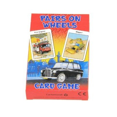 Pairs On Wheels Card Game (£1.99)
