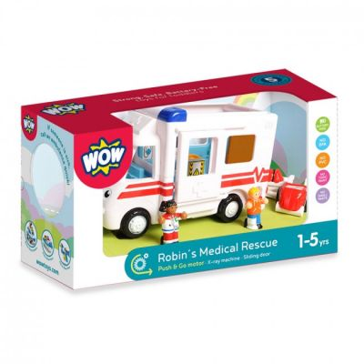 Robin's Medical Rescue Wow Toys (£32.99)