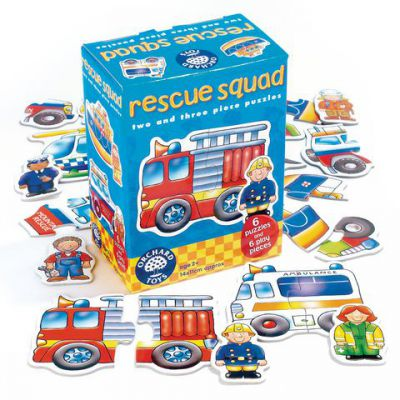 Image 2 of Rescue Squad 2 and 3 Piece Puzzles  (£7.99)