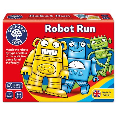 Robot Run - Orchard Toys (£8.99)