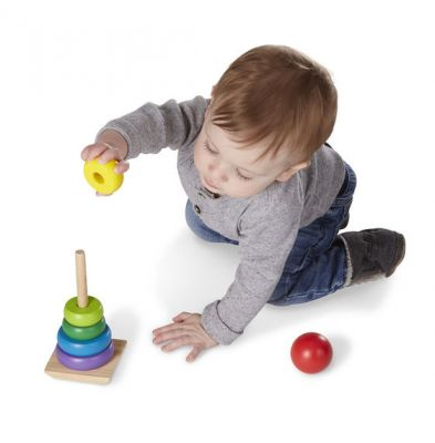 Image 3 of Rainbow Stacker Classic Toy  (£6.99)