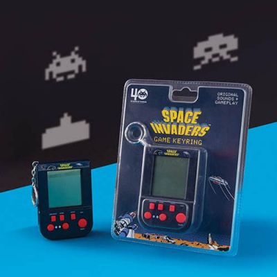 Image 1 of Space Invaders Keyring (£14.99)