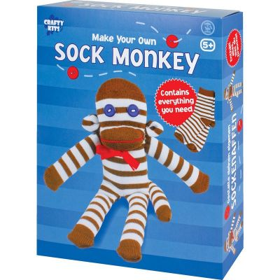 Make Your Own Sock Monkey (£6.99)