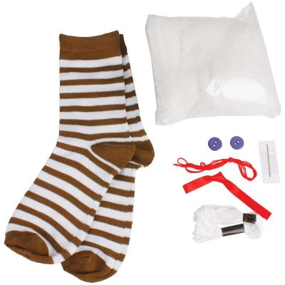 Image 2 of Make Your Own Sock Monkey (£6.99)