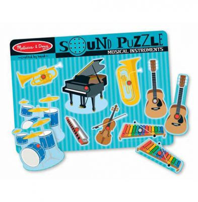 Image 3 of Musical Instruments Sound Puzzle - Melissa and Doug (£11.99)