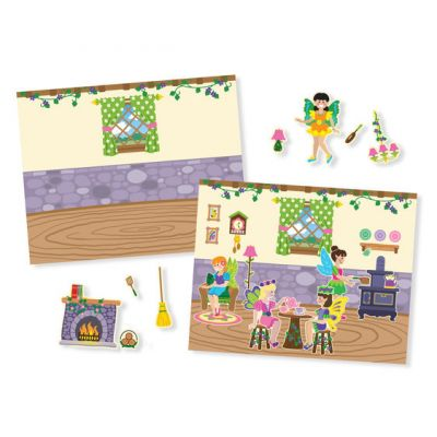 Image 2 of Fairy Reusable Sticker Pad - Melissa and Doug  (£5.75)