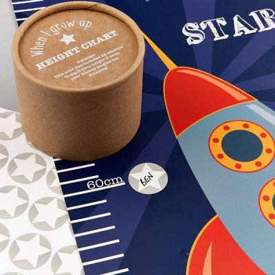 Image 2 of Space Height Chart - Floss and Rock  (£7.99)