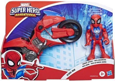 SHA MEGA MINI MOTORCYCLE SPIDERMAN (£12.99)