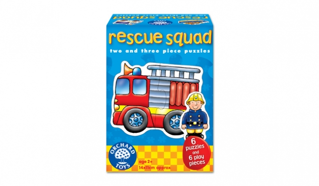 Rescue Squad Puzzles - Orchard Toys (£7.99)