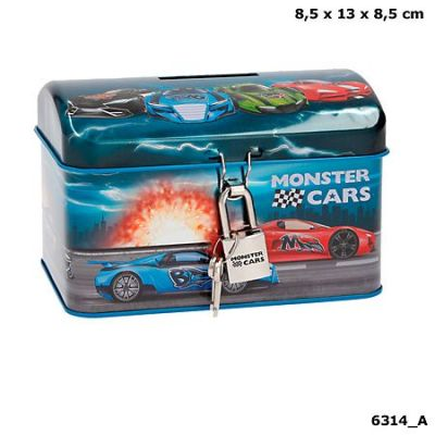 Monster Cars Savings Tin (£6.25)