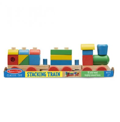 Wooden Stacking Train (£18.99)