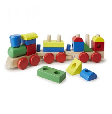 Image 4 of Wooden Stacking Train  (£18.99)