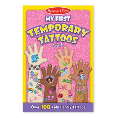 My First Temporary Tattoos Pink (£3.99)