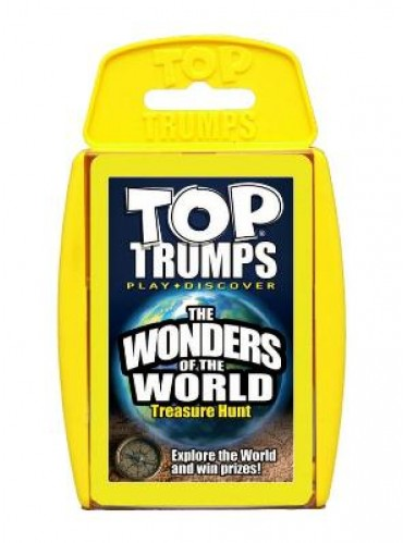 Top Trumps Wonders Of The World (£5.99)