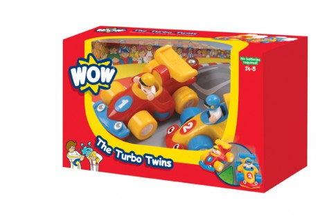 The Turbo Twins - Wow Toys (£15.99)
