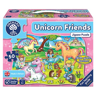 Unicorn Friends Jigsaw - Orchard Toys (£12.99)