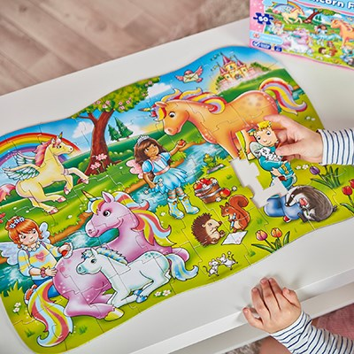 Image 4 of Unicorn Friends Jigsaw - Orchard Toys  (£12.99)