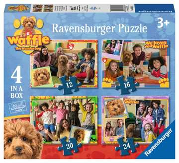 Waffle 4 In A Box Ravensburger Puzzles (£7.99)