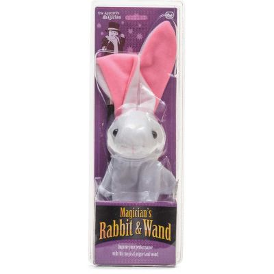 MAGICIAN'S RABBIT AND WAND (£8.99)