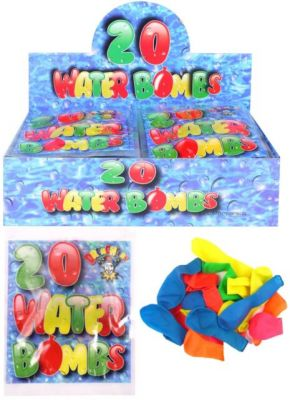 20 Water Bombs (£0.50)
