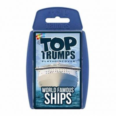 World Famous Ships - Top Trumps (£5.99)