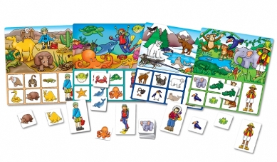 Image 2 of Where Do I Live Orchard Toys Game  (£10.99)