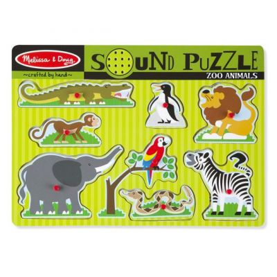 Image 1 of Zoo Sound Puzzle - Melissa and Doug  (£12.99)